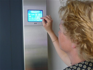 Domotica Vantage systeem-touch screen